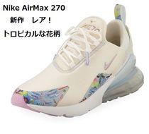 Nike AIR MAX 270 Flower Patterns Blended Fabrics Sneakers