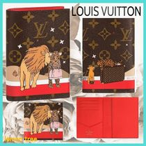 Louis Vuitton MONOGRAM Unisex Passport Cases
