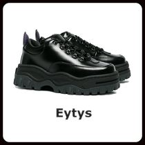 Eytys Rubber Sole Street Style Leather Oversized Low-Top Sneakers