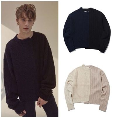 Street Style Long Sleeves Oversized Knits & Sweaters