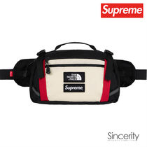 Supreme Street Style Collaboration Plain Bags