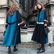 Long Oversized Wrap Coats