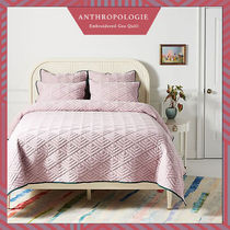 Anthropologie Unisex Plain Duvet Covers Pillowcases Comforter Covers