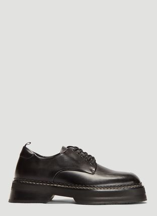 Leather U Tips Oxfords