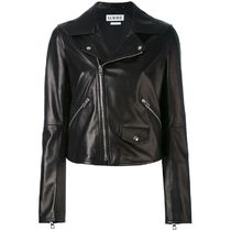 LOEWE Plain Leather Jackets