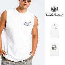 Deus Ex Machina Street Style Cotton Oversized Tanks