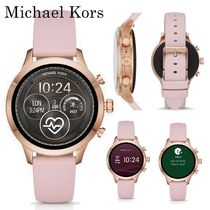Michael Kors Silicon Round Elegant Style Digital Watches