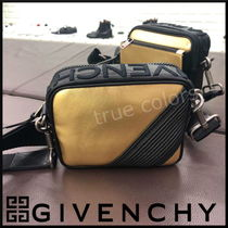 GIVENCHY Street Style Bi-color Leather Messenger & Shoulder Bags