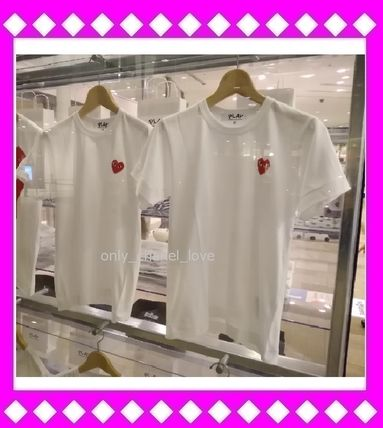 COMME des GARCONS More T-Shirts Cotton Short Sleeves T-Shirts