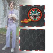 GUCCI Unisex Canvas Street Style Other Animal Patterns