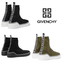GIVENCHY Blended Fabrics Plain Sneakers
