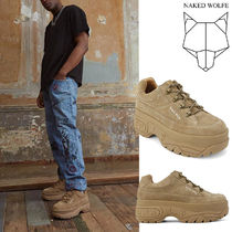 Naked Wolfe Suede Sneakers