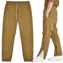 RICK OWENS Plain Cotton Sarouel Pants