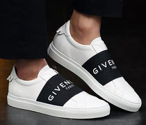 GIVENCHY Unisex Bi-color Leather Sneakers