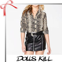 DOLLS KILL Other Animal Patterns Elegant Style Shirts & Blouses