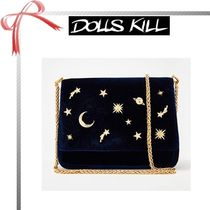 DOLLS KILL Star Casual Style Plain Shoulder Bags
