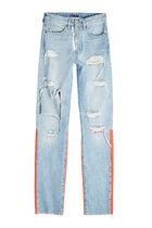 Off-White Collaboration Cotton Jeans & Denim