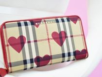 Burberry Other Plaid Patterns Long Wallets