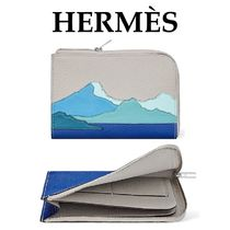HERMES Leather Coin Purses
