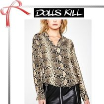DOLLS KILL Casual Style Long Sleeves Other Animal Patterns Medium