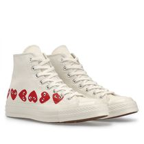 PLAY COMME des GARCONS Heart Unisex Sneakers