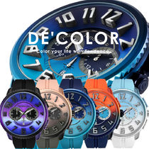 TENDENCE Unisex Street Style Quartz Watches Analog Watches