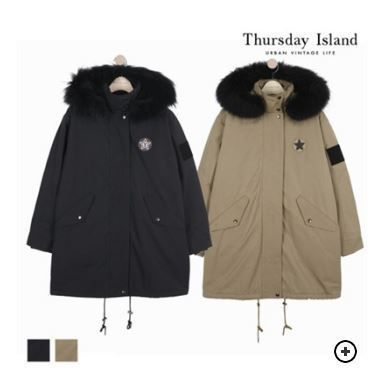 Casual Style Fur Blended Fabrics Street Style Medium Parkas