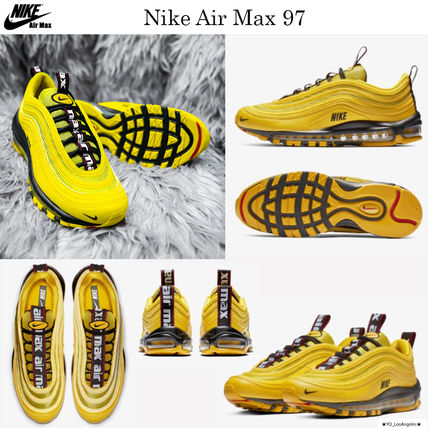 9fa5ea682d Street Style Sneakers[ AIR MAX 97 ][ 2019 SS ]. $289 USD. Choose color &  size. Bright Citron/Black/Black ...