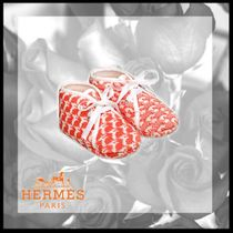 HERMES Unisex Street Style Baby Girl Shoes