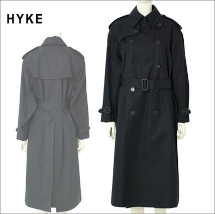 Casual Style Street Style Plain Long Oversized Coats
