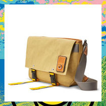 LOEWE Canvas Plain Backpacks