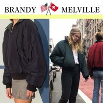 Brandy Melville Casual Style Street Style Jackets