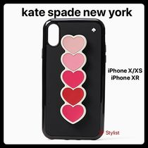 kate spade new york Heart Silicon Smart Phone Cases