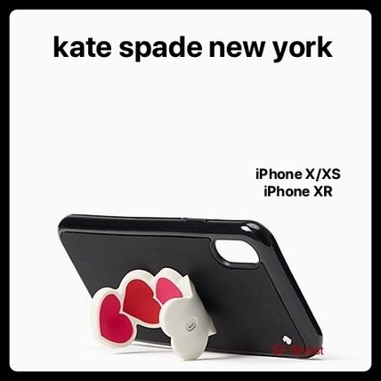 kate spade new york Smart Phone Cases Heart Unisex Silicon iPhone XR Smart Phone Cases 3