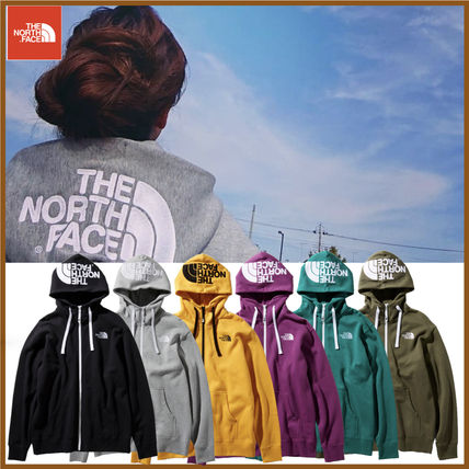 THE NORTH FACE Hoodies Unisex Street Style Long Sleeves Oversized Hoodies