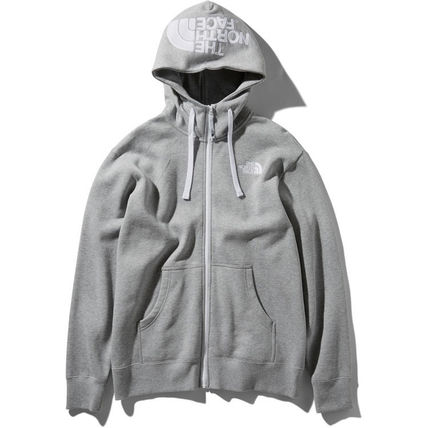 THE NORTH FACE Hoodies Unisex Street Style Long Sleeves Oversized Hoodies 4