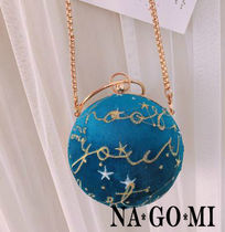 Star Vanity Bags Chain Party Style PVC Clothing