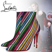Christian Louboutin So Kate Stripes Suede Blended Fabrics Pin Heels