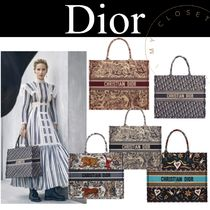 Christian Dior Canvas Street Style A4 Other Animal Patterns Oversized