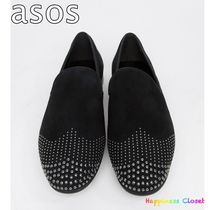 ASOS Loafers Suede Studded Loafers & Slip-ons