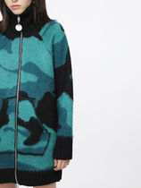 DIESEL Camouflage Casual Style Street Style Medium Jackets