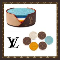 Louis Vuitton MONOGRAM Blended Fabrics Home Party Ideas Kitchen & Dining