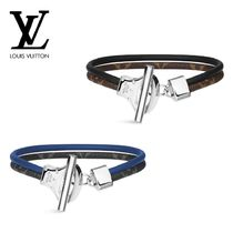 Louis Vuitton MONOGRAM Monogram Leather Bracelets