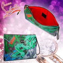 Christian Louboutin Leather Clutches