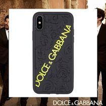 Dolce & Gabbana Unisex Street Style Smart Phone Cases