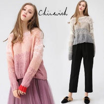 Chicwish Casual Style Long Sleeves Oversized Sweaters
