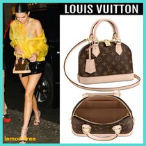 Louis Vuitton ALMA Monogram Canvas Blended Fabrics Tassel 2WAY Elegant Style