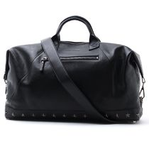 Jimmy Choo A4 2WAY Leather Boston Bags