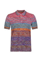 MISSONI Stripes Cotton Short Sleeves Polos
