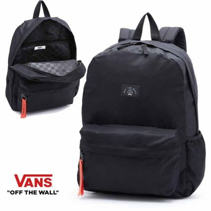 f36a7154ae VANS 2018-19AW Casual Style Unisex Street Style 2WAY Plain Backpacks ...